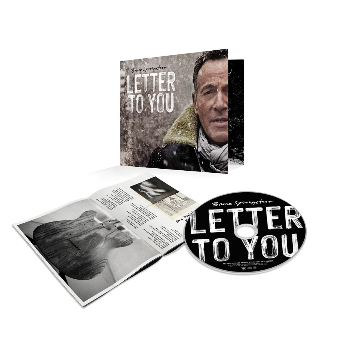 Letter To You CD
