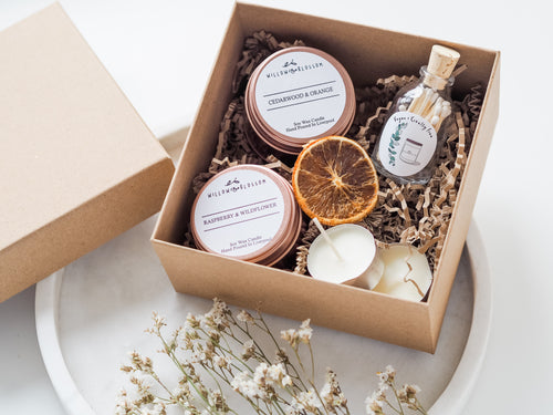 Candle lovers gift box