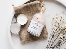 Load image into Gallery viewer, Rose Garden Botanical Bath Salts Small Bottle