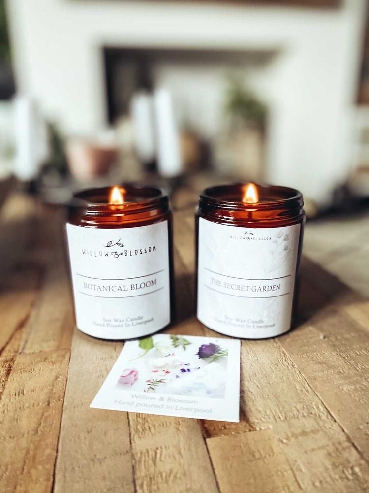 The Secret Garden candle