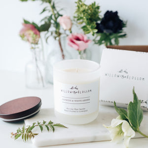 Raspberry & Wildflower 55 hour burn time Large Luxury Candle