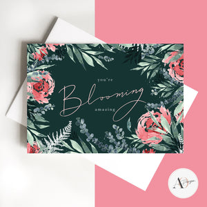 Blooming Amazing Card