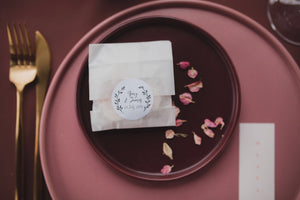 Wedding Favours ; Petal Melts