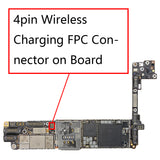 OEM 4pin Wireless Charging FPC Connector on Board for iPhone 8 8Plus