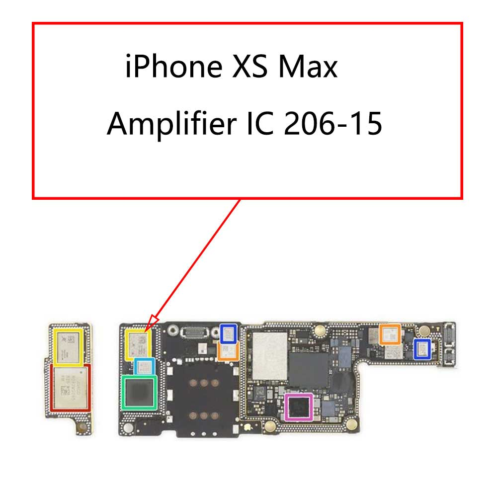 iPhone XS Max Amplifier IC 206-15 | myFixParts.com