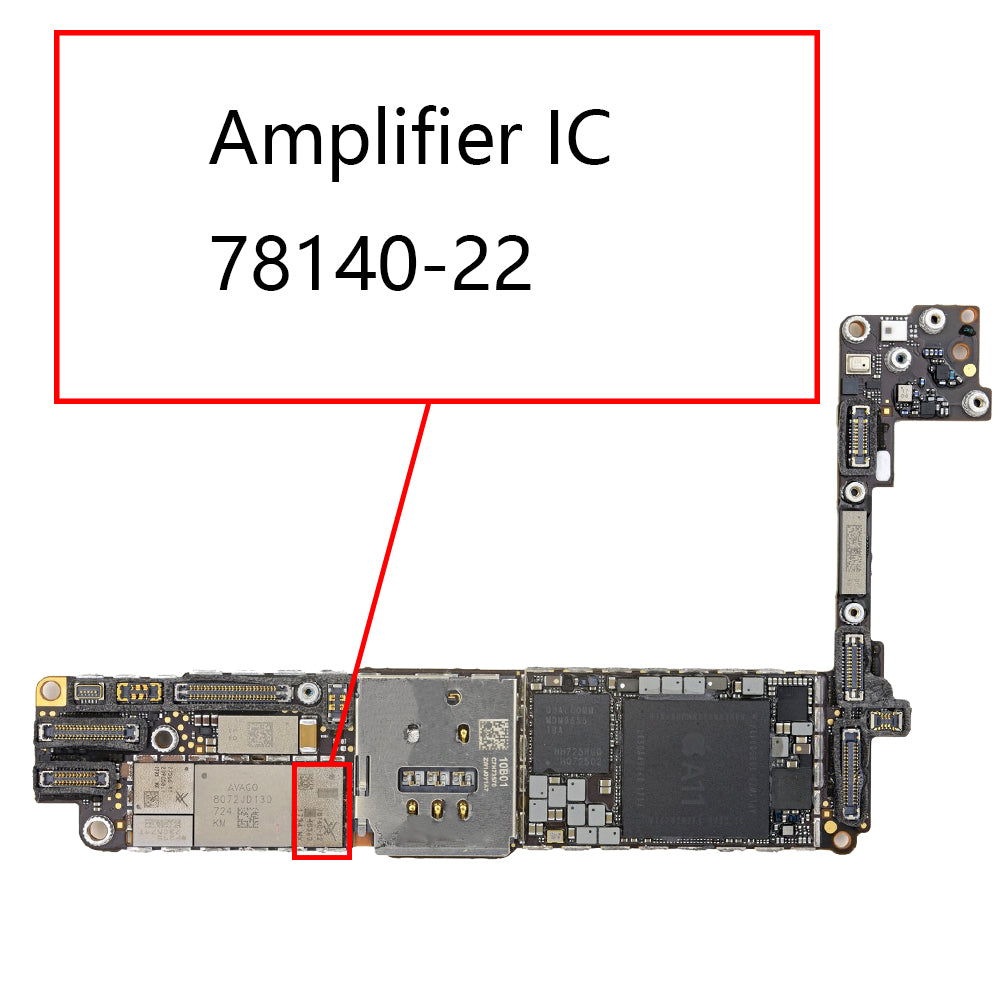 OEM AMP IC 78140-22 for iPhone 8 8Plus