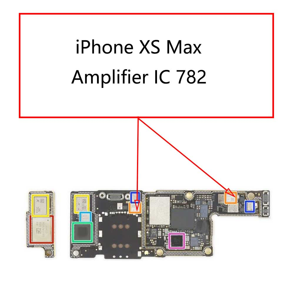 iPhone XS Max Amplifier IC 782 | myFixParts.com