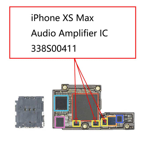 iPhone XS Max Audio IC 338S00411 | myFixParts.com
