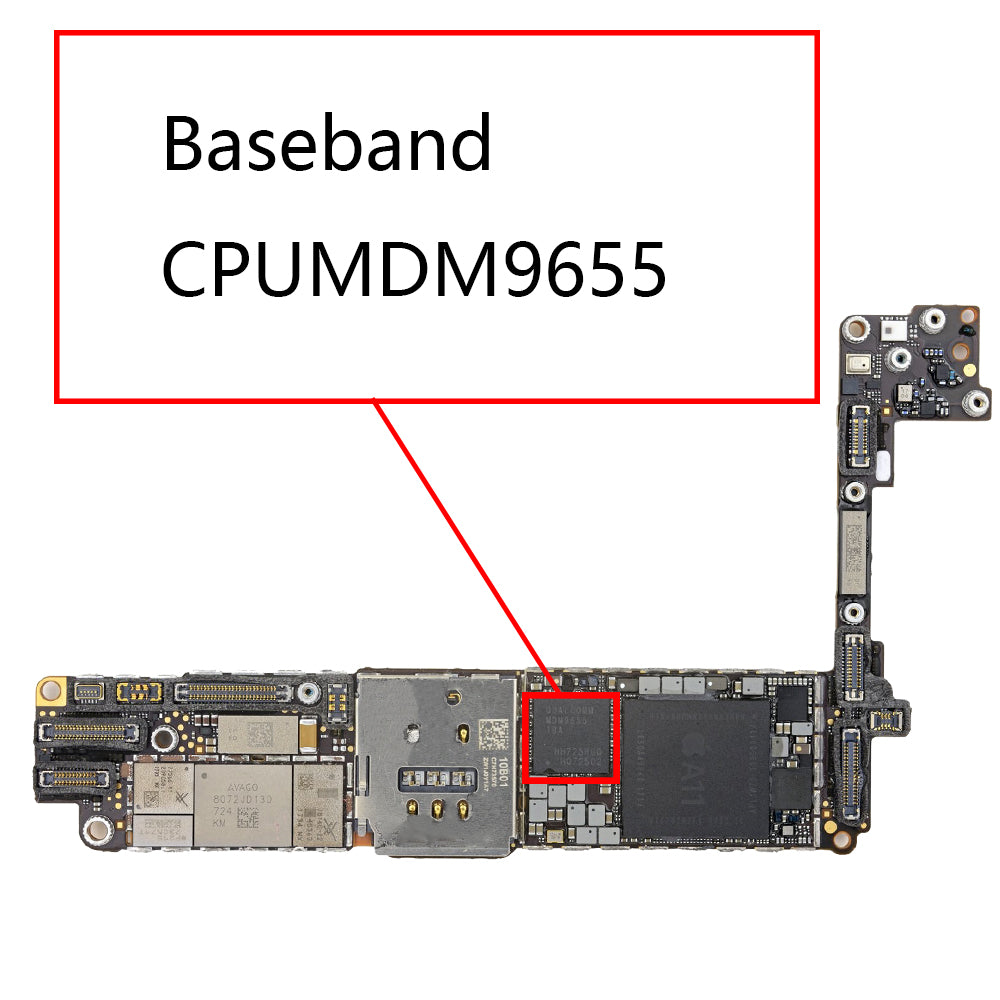 OEM Baseband CPU MDM9655 for iPhone 8 8Plus