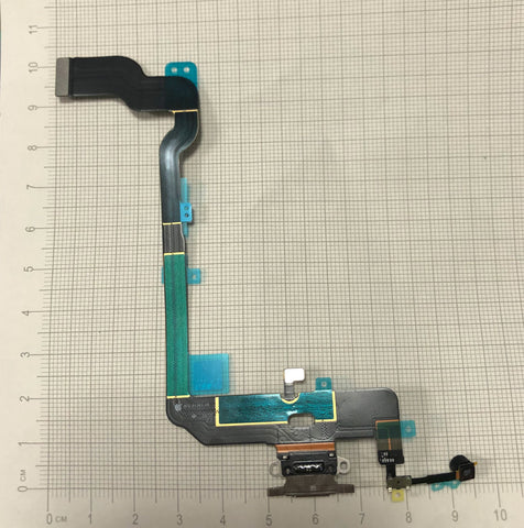 OEM Charging Port Flex Cable for iPhone XS -Gold