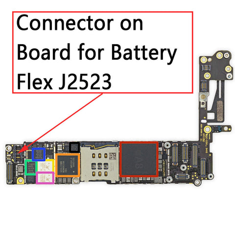 OEM Battery Connector Clip on Board for iPhone 6