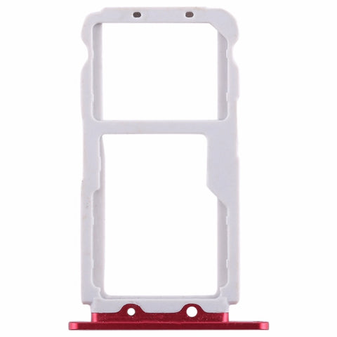OEM SIM Card Tray for Huawei Honor View 10 -Red