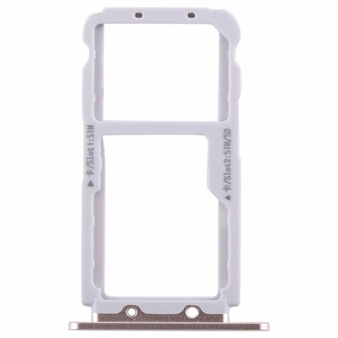 OEM SIM Card Tray for Huawei Honor View 10 -Gold