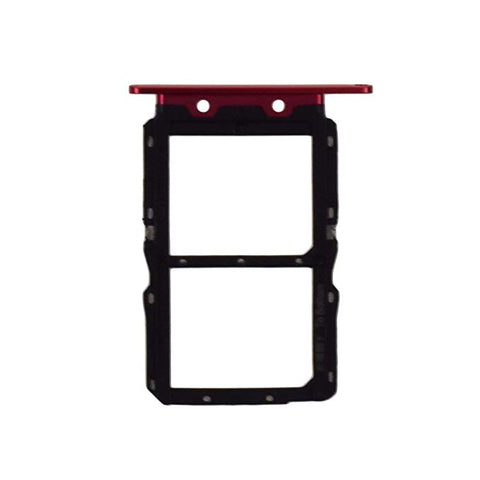 OEM SIM Card Tray for Huawei Nova 4 -Red