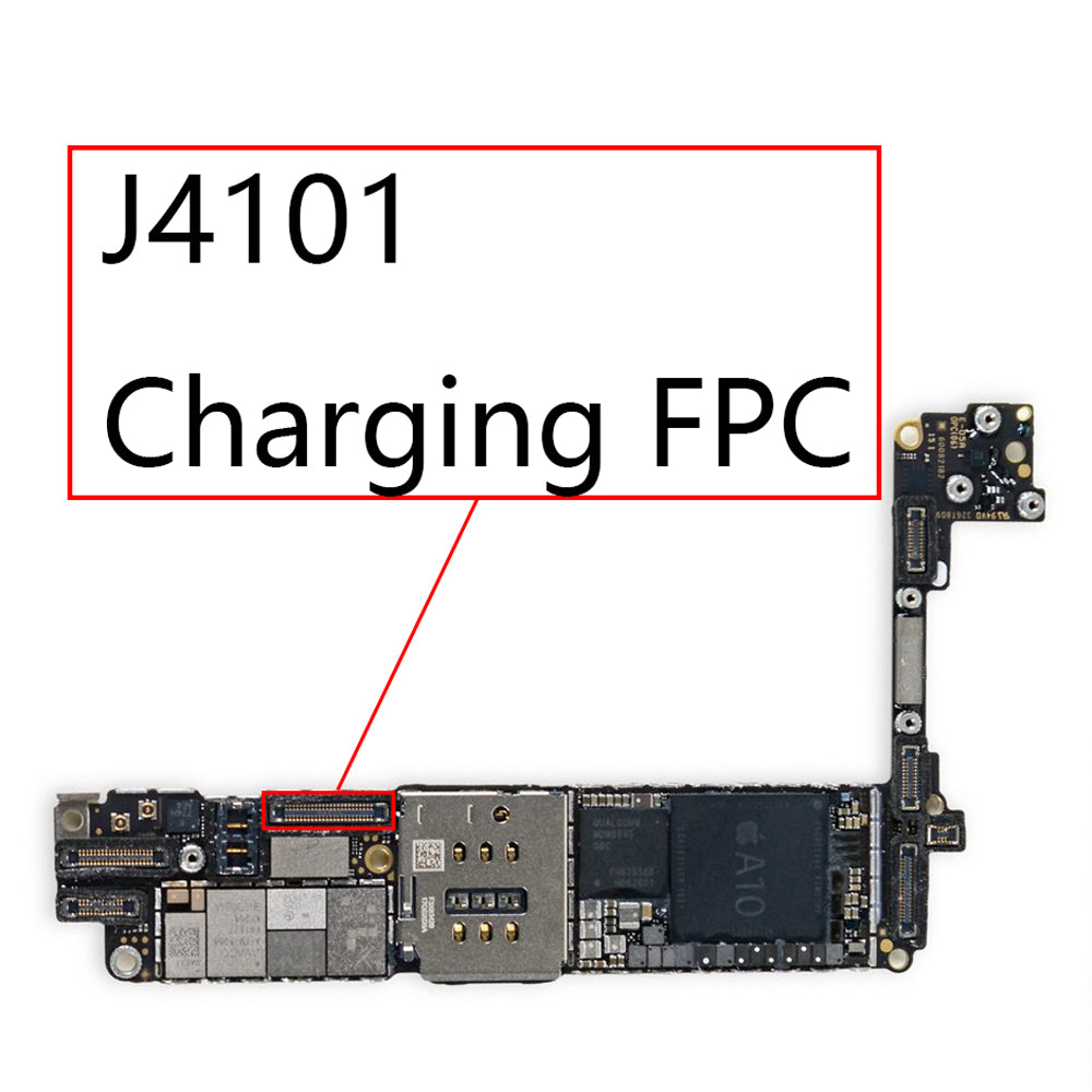 OEM J4101 48pin Charging Port FPC Connector for iPhone 7