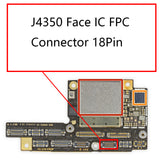 OEM J4350 Face IC FPC Connector 18Pin for iPhone X