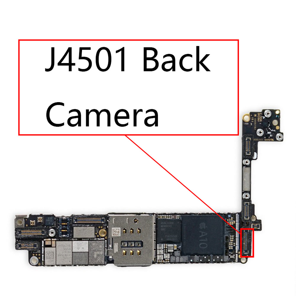 OEM J4501 22pin Back Camera FPC Connector for iPhone 7