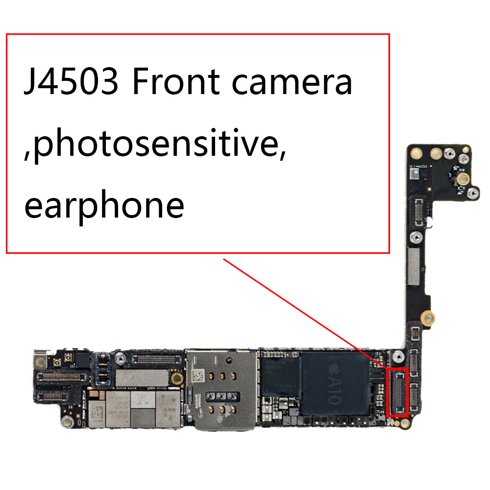 OEM J4503 36pin Front Camera FPC Connector for iPhone 7 Plus