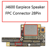 iPhone X J4600 Earpiece FPC Connector 28Pin | myFixParts.com