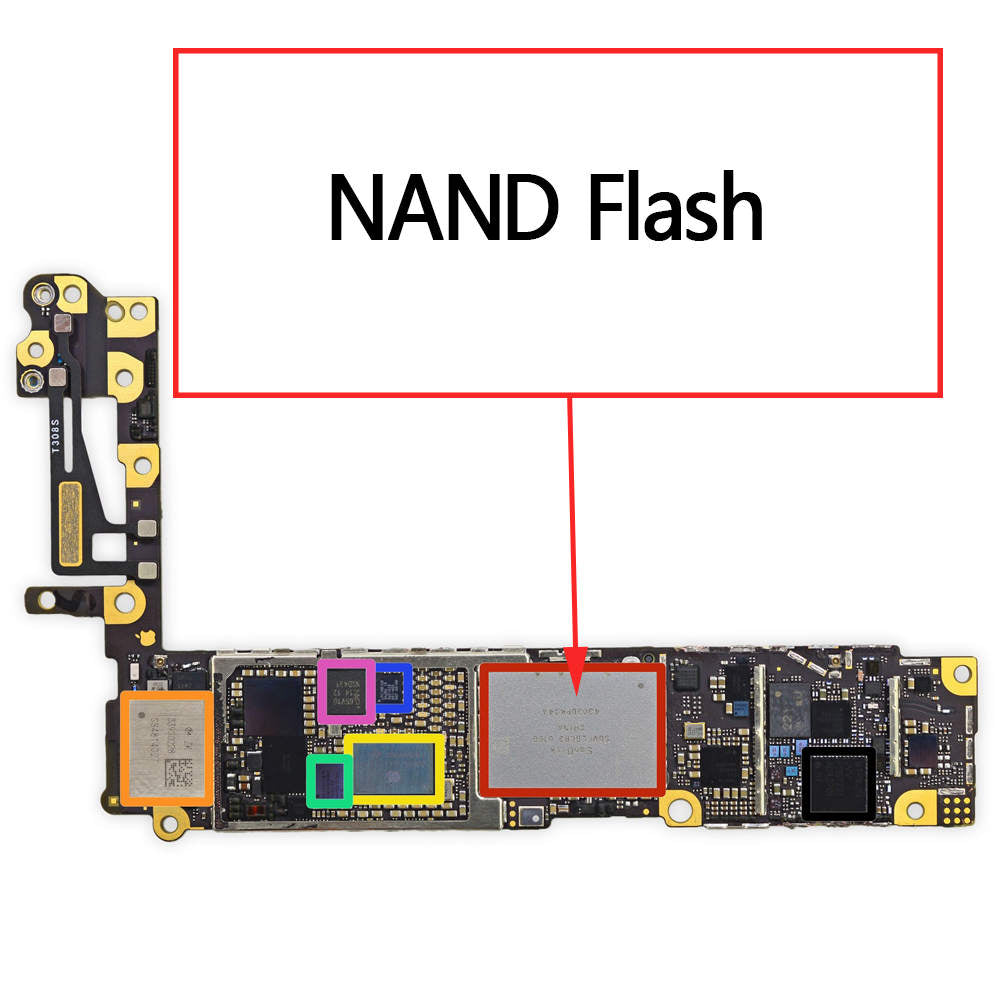 OEM NAND Flash Chip EMMC for iPhone 6