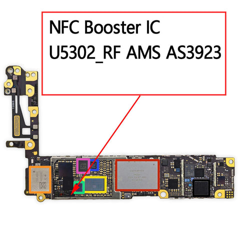 OEM NFC Booster IC U5302 AS3923 for iPhone 6 6Plus