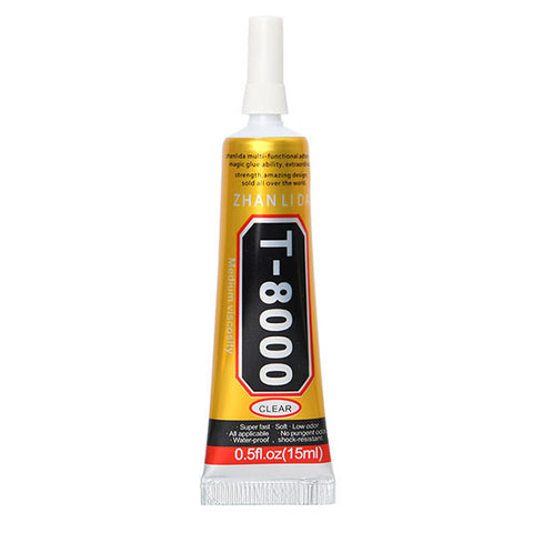 15ml T-8000 Multi Purpose Liquid Glue for Repairing Phone Screen Shell