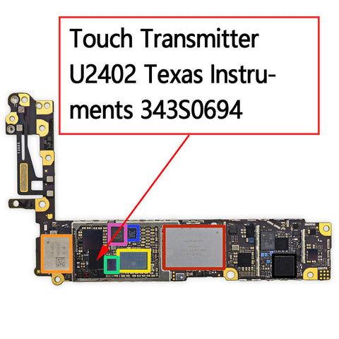 OEM Touch Transmitter IC U2402 343S0694 for iPhone 6 6Plus