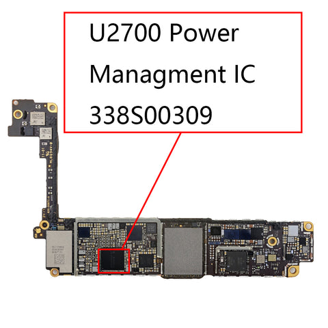 OEM Power Management IC 338S00309 U2700 for iPhone 8 8Plus