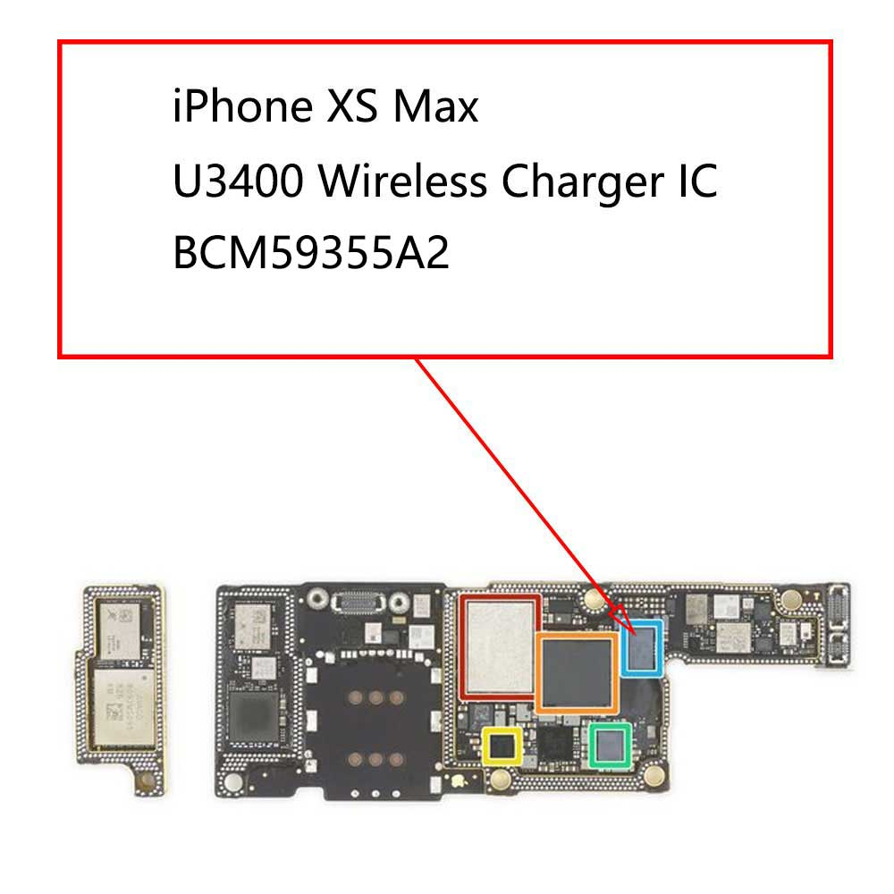 iPhone XS Max U3400 Wireless Charger IC 59355A2 | myFixParts.com