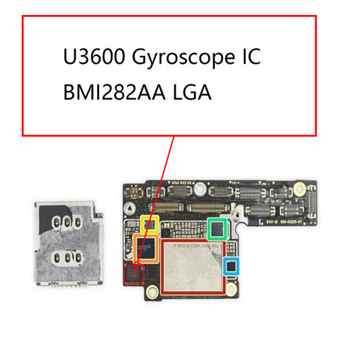 iPhone XS XS Max U3600 Gyroscope IC BMI282AA | myFixParts.com