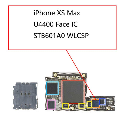 iPhone XS Max U4400 Face IC STB601A0 | myFixParts.com