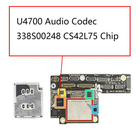 iPhone XS XS Max U4700 Audio IC 338S00248 | myFixParts.com