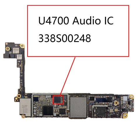 OEM Audio IC 338S00248 U4700 for iPhone 8 8Plus
