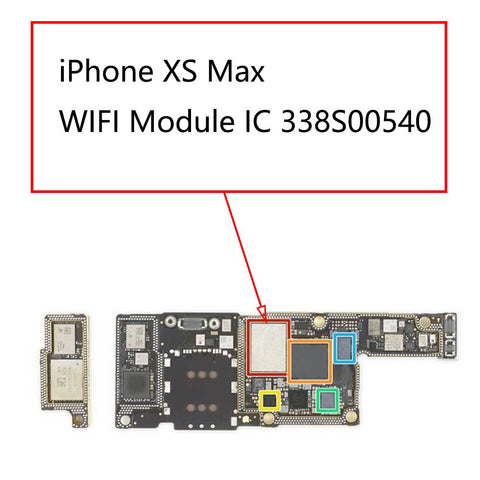 iPhone XS Max WIFI Module IC 338S00540 | myFixParts.com