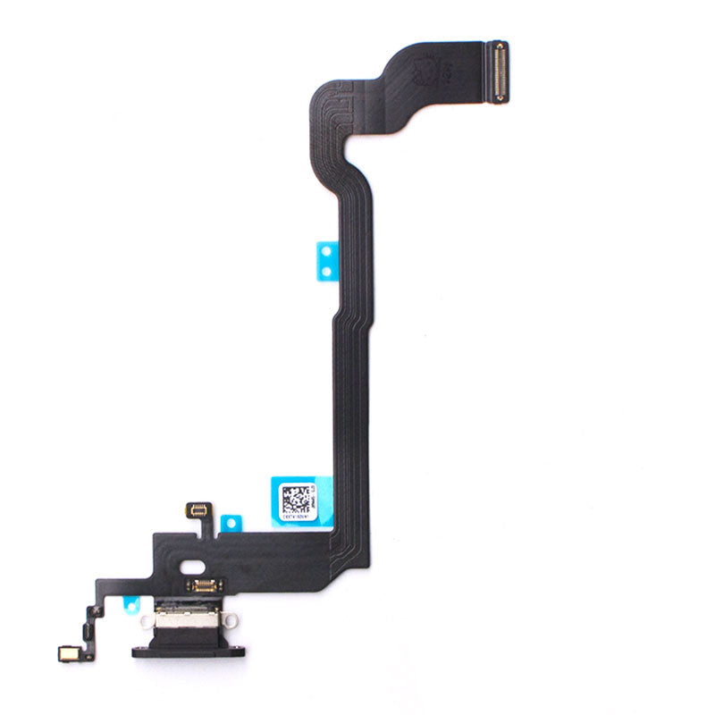 OEM Dock Charging Flex Cable with Tools for iPhone X -Black