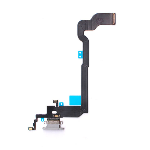 OEM Dock Charging Flex Cable with Tools for iPhone X -Silver