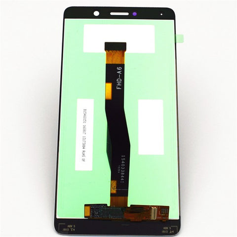 OEM LCD Screen and Digitizer Assembly with Frame for Huawei Honor 6X -White