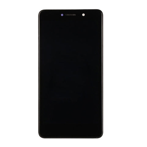 OEM LCD Screen and Digitizer Assembly with Frame for Huawei Honor 6X -Black