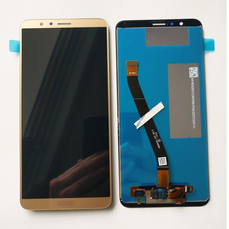 OEM LCD Screen with Digitizer Assembly for Huawei Honor 7X -Gold