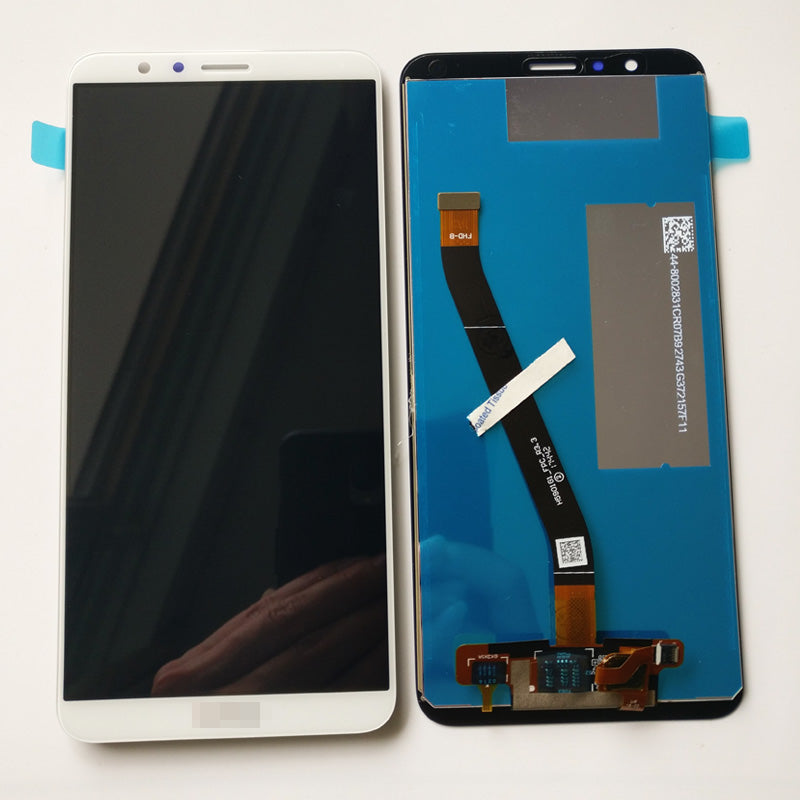 OEM LCD Screen with Digitizer Assembly for Huawei Honor 7X -White