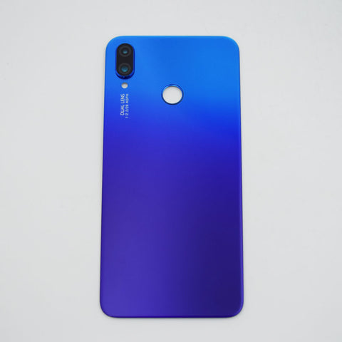 Huawei Nova 3i Back Glass with Camera Lens Blue | myFixParts.com