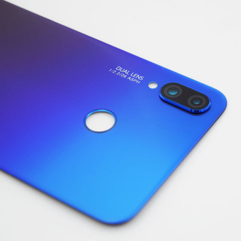 Huawei P Smart+ Back Glass with Camera Lens Blue | myFixParts.com