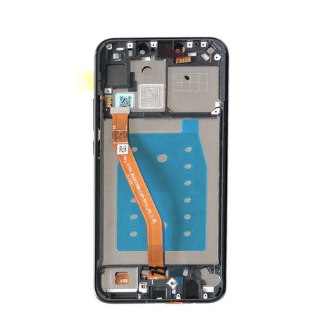 Huawei P Smart+ Screen with Frame Black | myFixParts.com