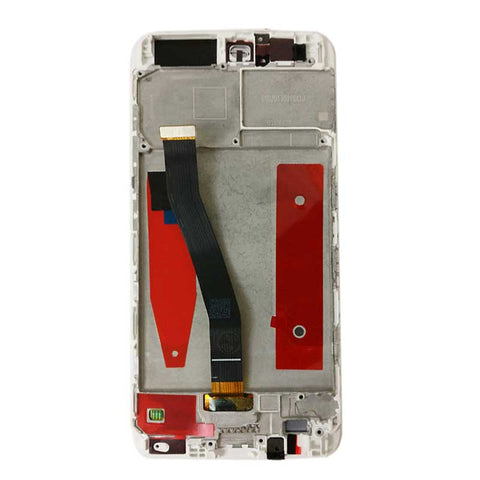 Huawei P10 LCD Screen Digitizer Assembly with Frame White | myFixParts.com