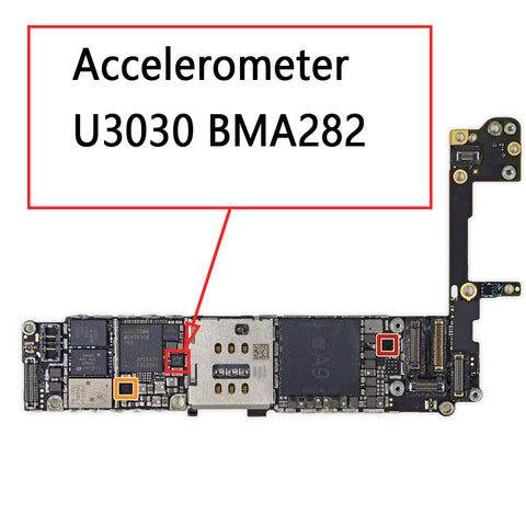 OEM Accelerometer U3030 BMA282 for iPhone 6S 6SPlus