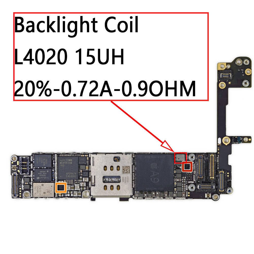 separation shoes 6e16c dab02 OEM Backlight Coil L4020 for iPhone 6S / 6S Plus