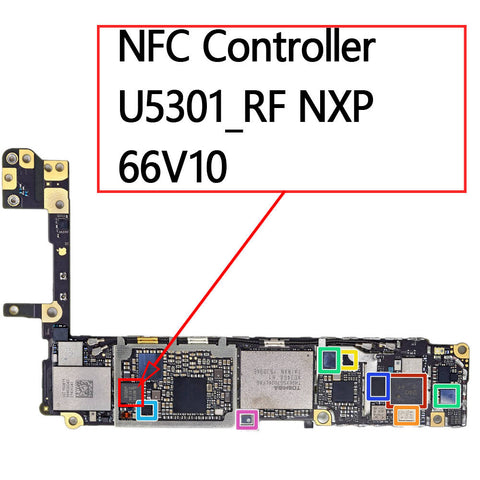 OEM NFC Controller U5301_RF 66V10 for iPhone 6S / 6S Plus