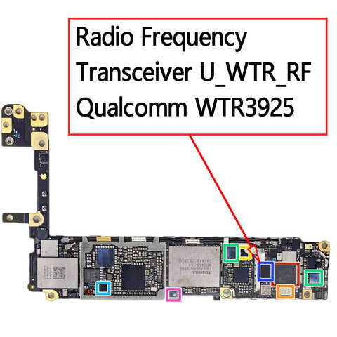 OEM RF Transceiver WTR3925 for iPhone 6S / 6S Plus