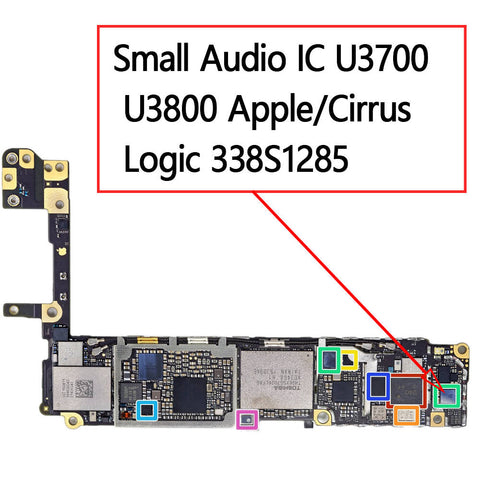 OEM Audio IC U3700 U3800 338S1285 for iPhone 6S / 6S Plus