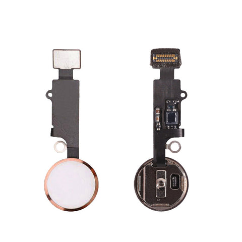 OEM Home Button Assembly with Flex Cable for iPhone 7 7Plus -Rose Gold